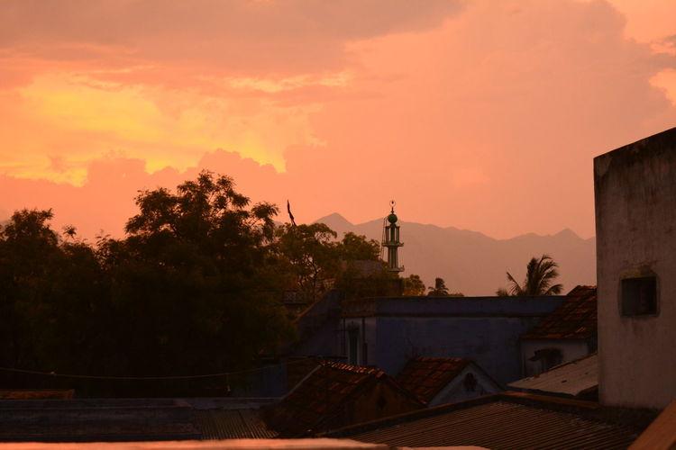 Indiasunset Nature RedSky Redsunset Sky Sunset