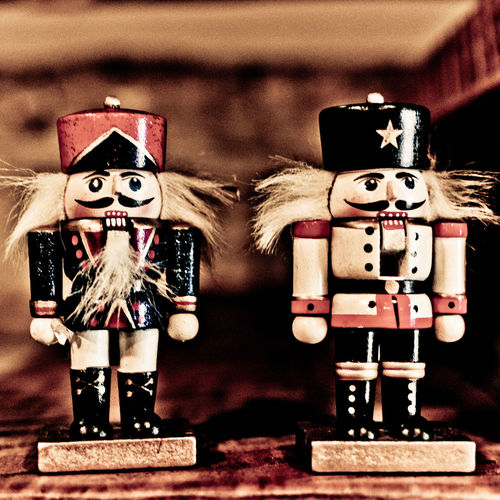 Art And Craft Christmas Christmas Decorations Christmastime Composition Creativity Cultures Happy Holidays! Nutcrackers Old-fashioned Ornate Perspective