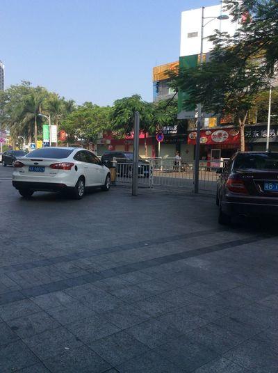 早晨的街道