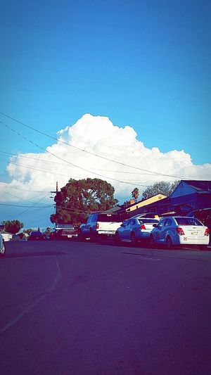 AntiochCA Clouds Thesky Blue Sky Beautiful Scenrey Thestreets