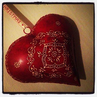Christmas heart ❤️??