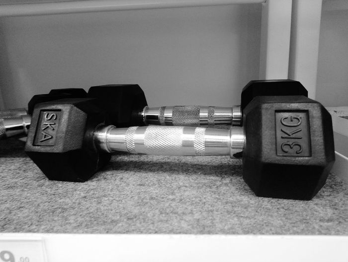 dumbell steel 💪 Steel Hard Smart Yim