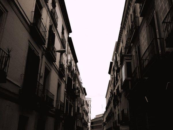 From Spain With Love SPAIN Madrid Street Buldings