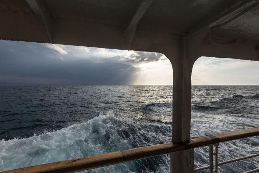 Blue Cloud - Sky Croatia Horizon Over Water Mali Lošinj My Commute My Commute-2016 EyeEm Photography Awards Rippled Scenics Sea Sky Sunbeam Susak Travel Destinations Water Wave