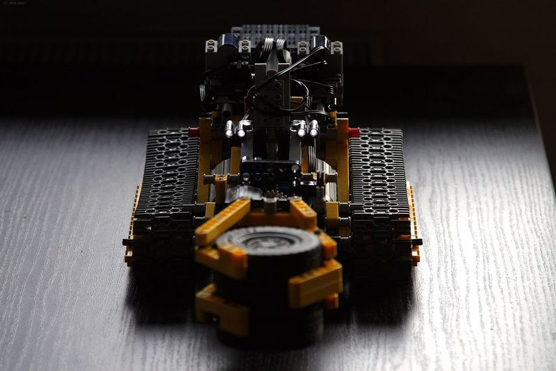 Caterpillar Close-up Creation Indoors  LEGO Legophotography Motorized No People Old-fashioned RC Technology