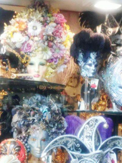 Carnevale Masks Multi Colored