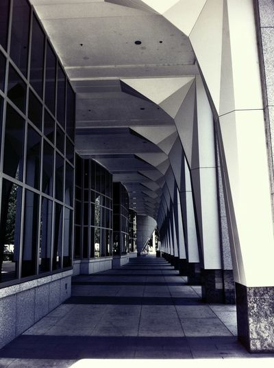 Urban Geometry Blackandwhite Architecture Vanishing Point
