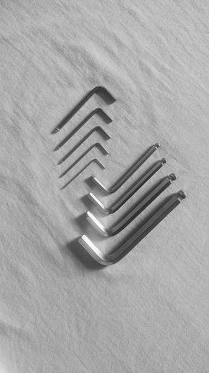tool kit Blackandwhite Tool Pattern Textured  Close-up Nail Full Frame Detail
