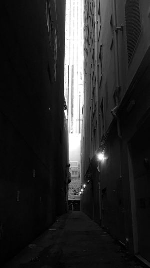 Blackandwhite Laneway | Streets | Emptiness | Blackapp