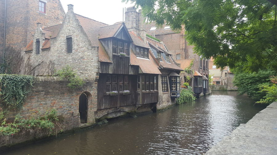 canalside Canal Canals And Waterways Old Buildings Old-fashioned Wooden Architecture Building Exterior Built Structure Outdoors Day Water No People Tree