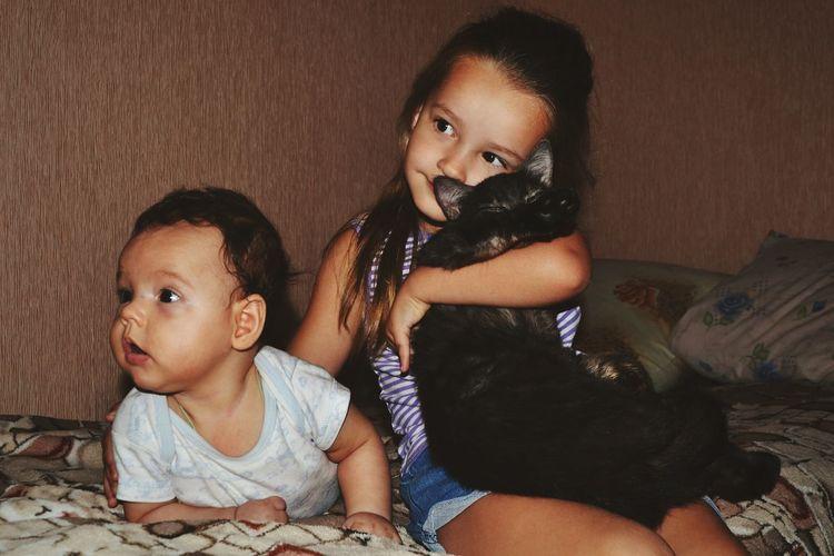 Family Girls Love Child First Eyeem Photo моясемья мои племянница и сестра