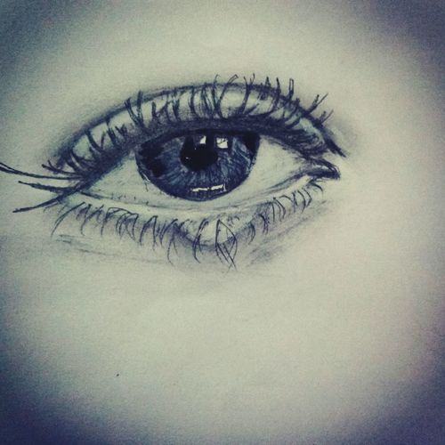 Emotional Photography My Firsy Sketch Sketching Drawing Eyes Never Lie Eyes Watching You Mobilephotography