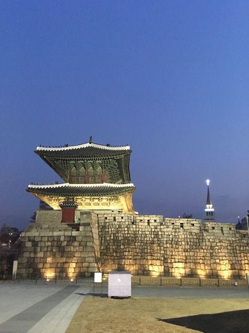새벽녁 동대문 Dongdaemun 동대문 새벽