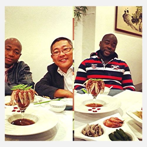 Beijing dinner with a boss