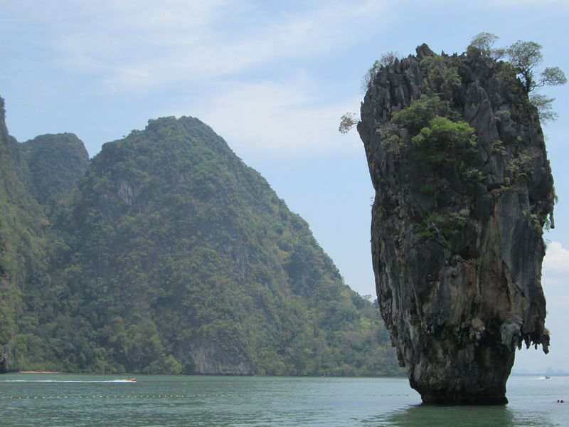 Spotted In Thailand James Bond Island Splashing I Love My City Harbor Sea Reflection Water Beauty In Nature Backgrounds Scenics Cityscape Vacations Cloud - Sky Nature