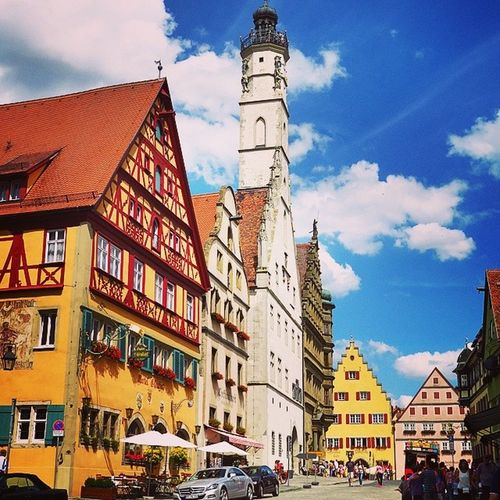 Last day in Germany :D Dinkelsbuhl Summer Germany Summer deustcheland