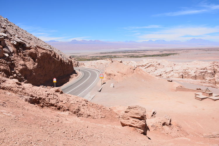 landscape of rocky desert and nature in Atacama desert, Chile Atacama Desert Nature Rock Formation Salt Flats Landscape Mountain Range Rocky Desert Rocky Mountains