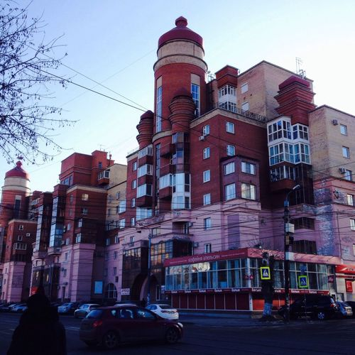 Russia City Bilding Photography Architecture