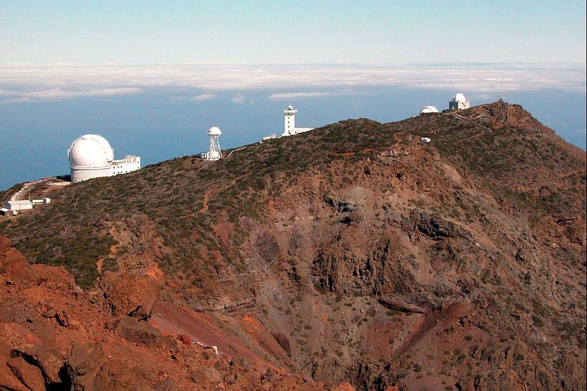 Observatory Observatory No People Outdoors Sky Starwatching Rocks Antenna - Aerial La Palma Travel SPAIN Star Observatory