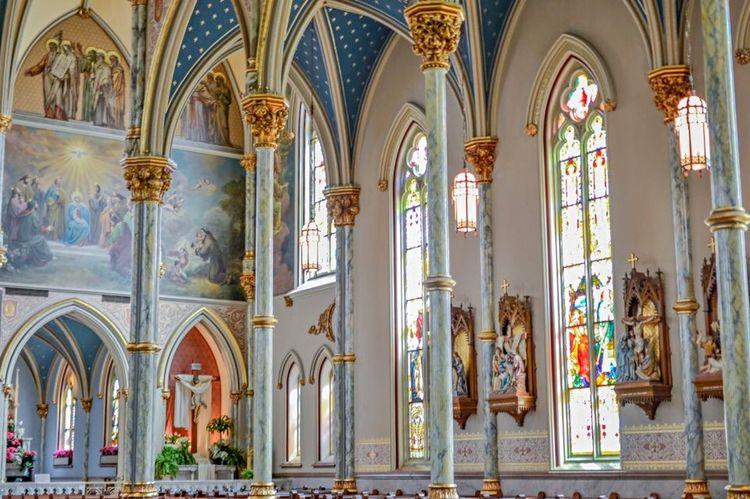 St. John The Baptist Cathedral Savannah Cathedral Church Savannah Architecture Architecture_collection Architectural Detail