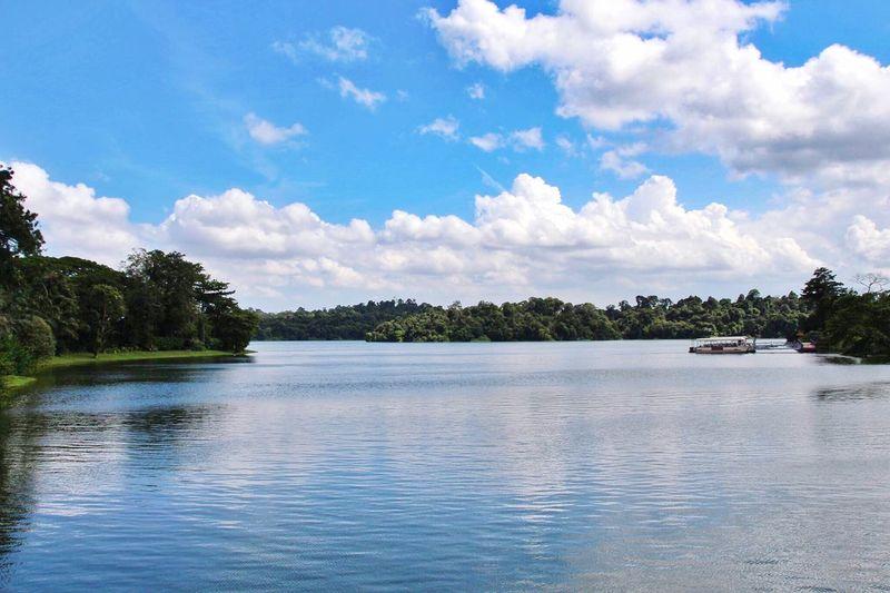 Blue Waters Water Sky Blue Landscape Tranquil Scene Lake EyeEmNewHere EyeEmNewHere
