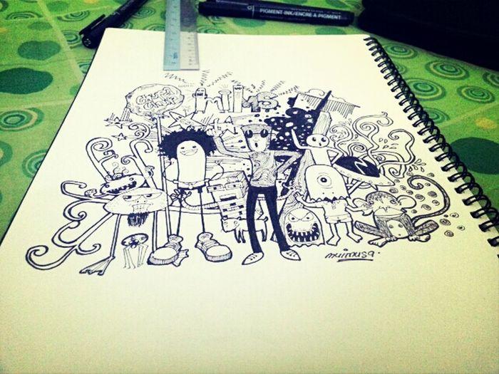 Doodles My Drawing Art, Drawing, Creativity Drawingtime like if u love ^_^