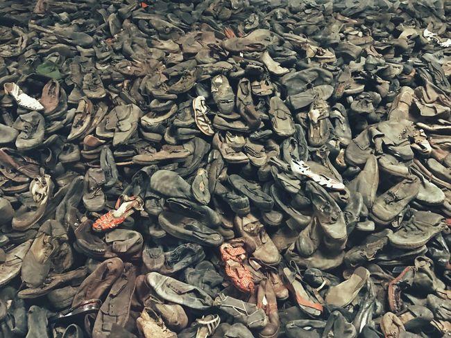 Aushwitz Aushwitz-Birkenau Aushwitz Camp Concetration Camp Shoes