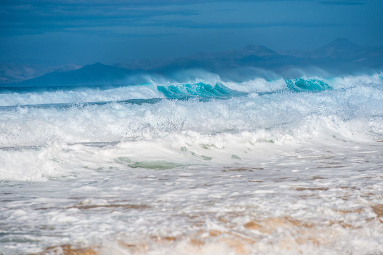 Waves at the Cofete beach Beach Photography Cofete Beach Fuerteventura Fuerteventura Coast Nature Wave Beach Beachphotography Coast Cofete Fuerteventuraexperience Water Waves
