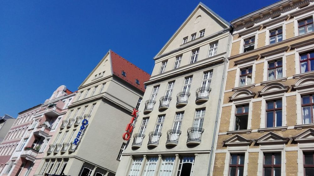 Hello World Architecture_collection Architecture Architectural Detail Sky Sky And City Houses And Windows Berlin Details Blu Sky Houses House Windows Window Streetphotography Street Photography Karl-marx-straße No Filter No Edit