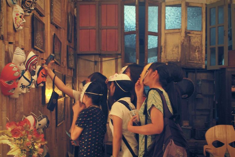 Wefie at Kitareka. EyeEm Malaysia Eye4photography  EyeEm Gallery Art Gallery EyeEm Creative OpenEdit Eyemphotography Vintage Kampung Cina