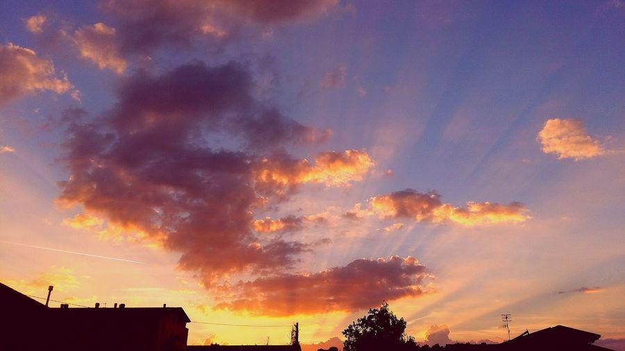 ..riflessi di sole.. ..in The Sky..