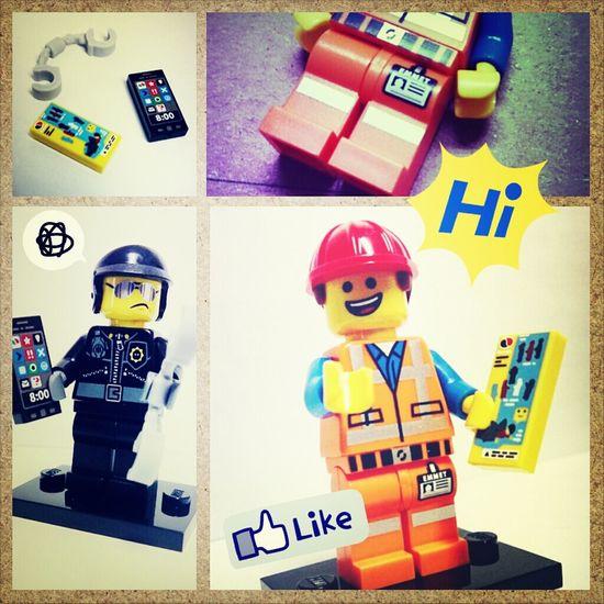 LEGO Badcop Emmet MOVIE