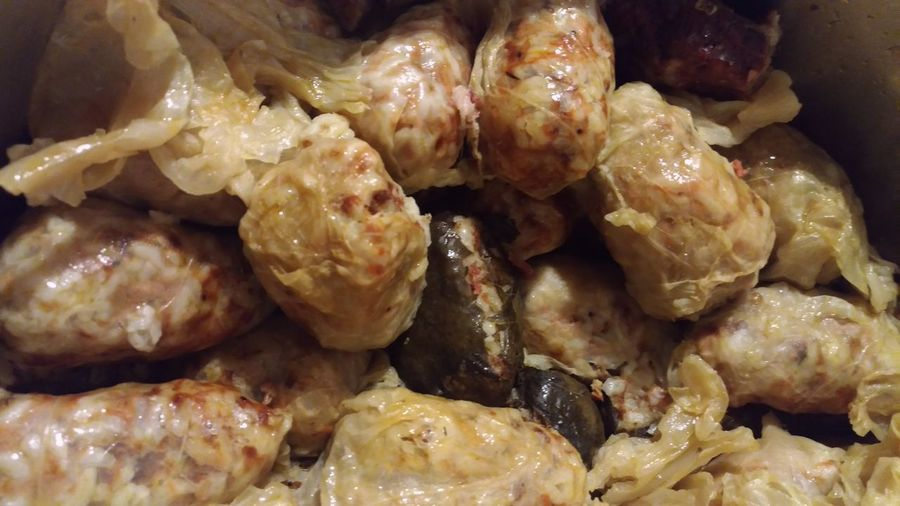 Sarmalute... a traditional food in Romania....;)Traditional Food And Drink Healthy Eating Food No People Freshness Prepared Potato Indoors  Ready-to-eat Close-up Romanian Food Romanian Tradition Romanian Food. Sarmale Galuste Stuffed Cabbage