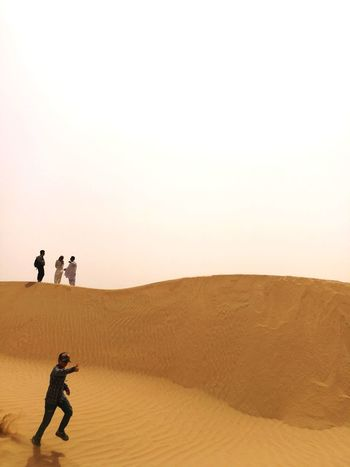 Sand Dune Competition Desert Arid Climate Sand Men Adventure Politics And Government Full Length Walking Summer Exploratorium