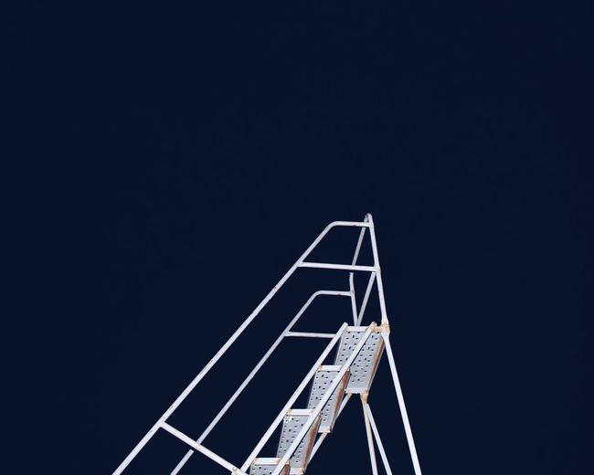 Low Angle View Outdoor Ladder