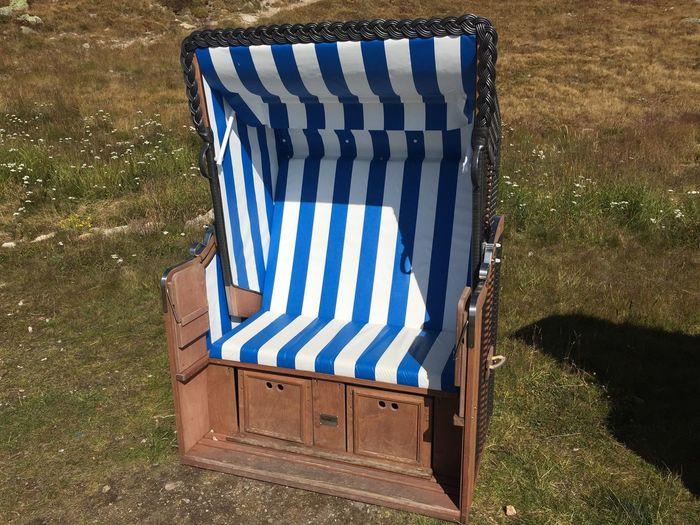 Roof Wicker Beach Chair Beach Chairs Beach Chair Beach Life Stripes Pattern Striped, Stripes Straight Lines Blue White