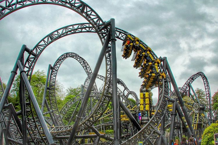 The smiler, it was really insane rollercoster Thesmiler Rollercoster Fun Roller Coaster AltonTowers Holiday Happyholidays Insane Rollercoster