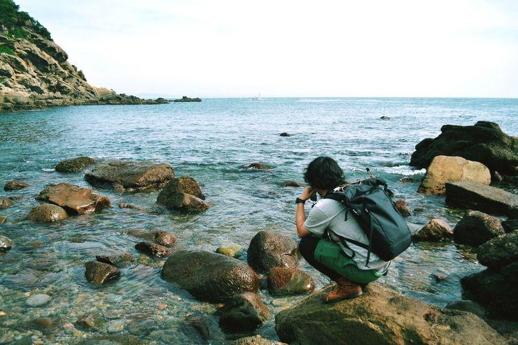 My Boyfriend ❤ Sea On A Holiday Portrait The Week On EyeEm