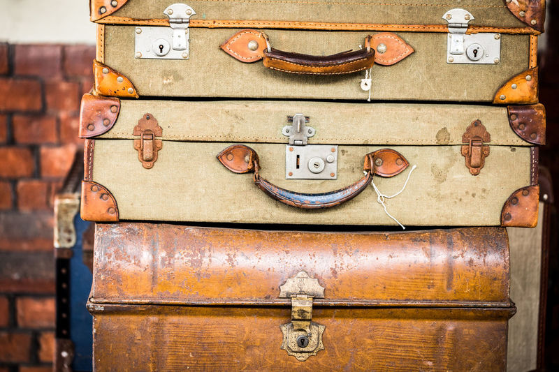 Adventure Antique Backgrounds Brown Close-up ExploreEverything Going On Vacation Holiday Background Jetsetter Leather Luggage No People Old Old Fashioned Pack Your Bags Retro Styled Suitcase Suitcases Traveler Vintage Luggage