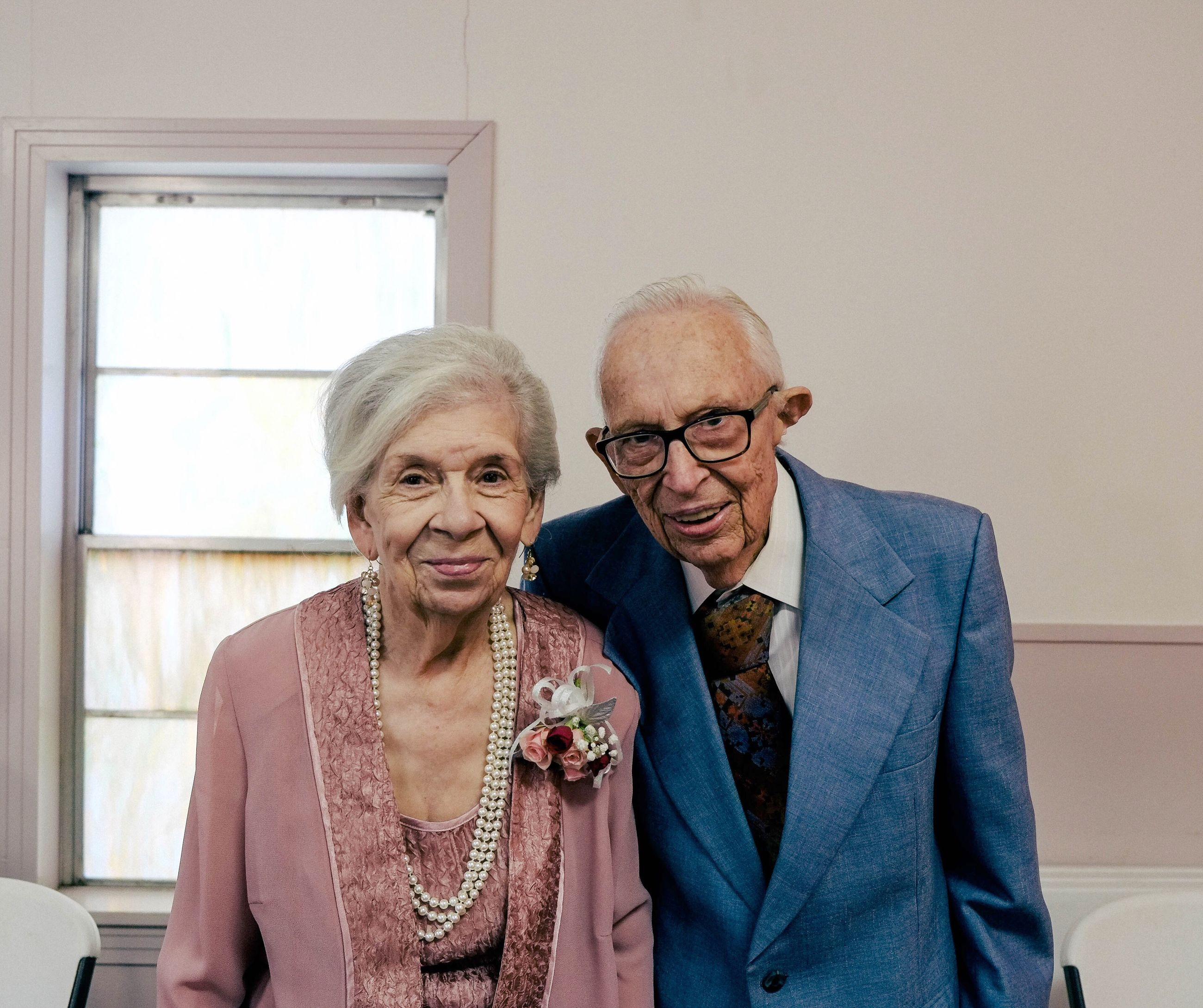 senior adult, two people, portrait, looking at camera, senior men, adults only, eyeglasses, happiness, smiling, adult, togetherness, beard, men, people, curly hair, retirement, only men, human body part, time, senior couple, young adult, indoors, blazer - jacket, day