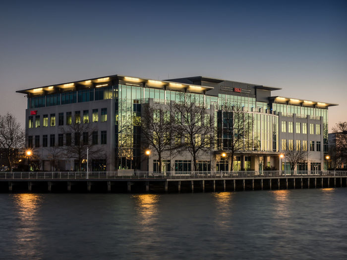Architectural Photography Architecture Building Exterior Built Structure Camden Riverfront City Cityscape Dusk Getolympus Illuminated JoeDiDario Joedidariophotography Joedidariophotographyllc Olympus Olympus OM-D EM-1 Water