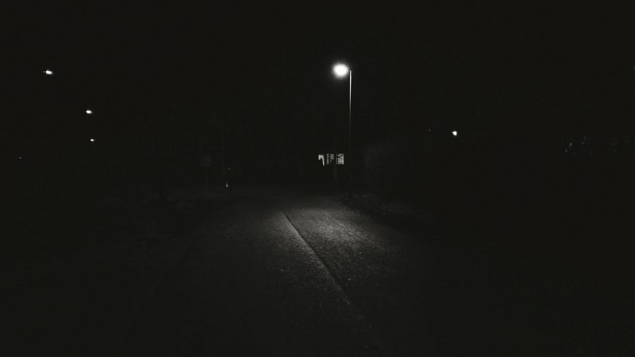 Streetlight Finland Lieto Getty Images Sold No People Landscape Darkness And Light Dark Evening The Street Photographer - 2017 EyeEm Awards