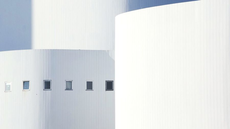Minimalist Minimalist Architecture Minimalism White Düsseldorf Travel Photography Germany Traveling Futuristic Architecture Whitewashed Building Settlement Building Exterior Exterior Built Structure #urbanana: The Urban Playground