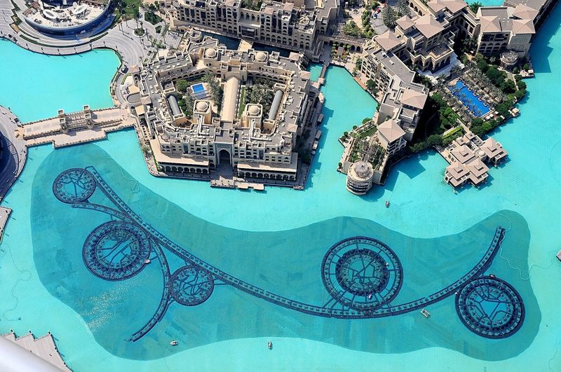 Burj Khalifa Dubai Fountain Downtown Dubai The Dubai Mall