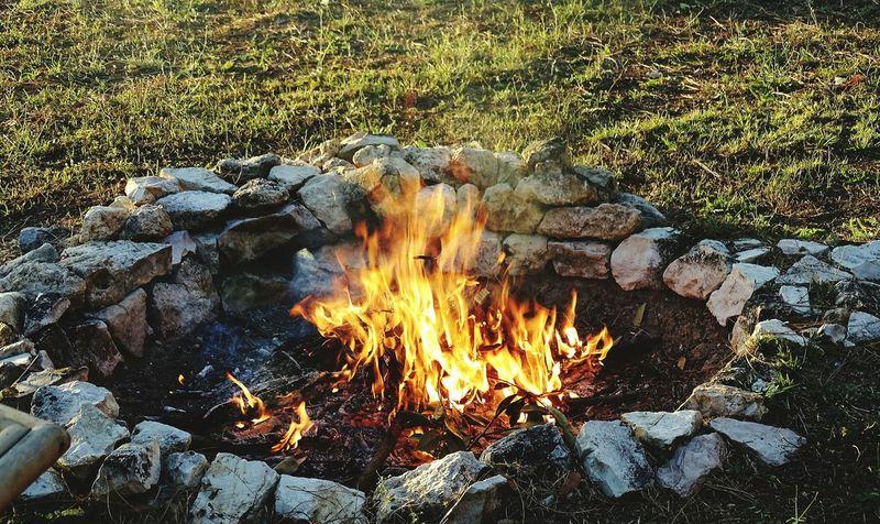 Fire Nature Photograph