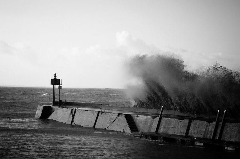 Tempête Ocean Fouras