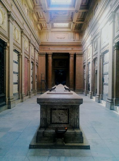 Architecture Indoors  No People Cemetery Cemetery Photography Italy Bologna, Italy Certosa Travel Destinations Marble Built Structure Water Politics And Government Day