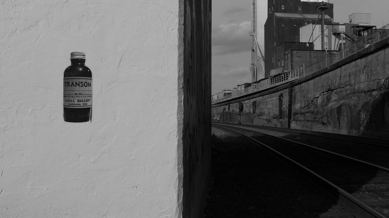Asymmetry Black And White Graffiti Street Art/Graffiti The Way Forward Under A Bridge