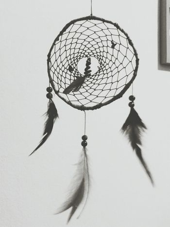 Dreamcatcher Goodvibes Black And White Hippies!