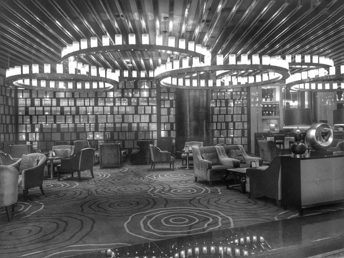 Iphoneonly Iphone 6 Plus IPhoneography Blackandwhite Black And White Monochrome Hotel Lobby Ramada Hotel